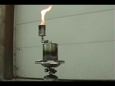 Diy Wood Gasifier of a Simple Wood Gasifier