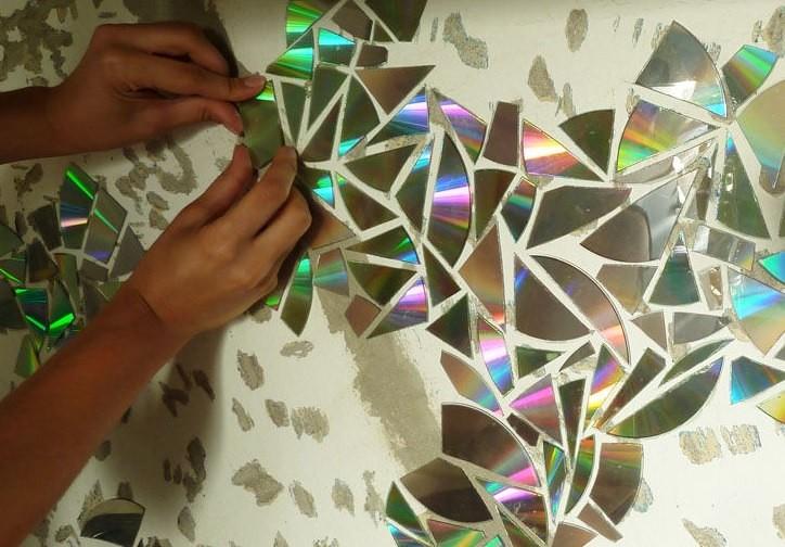 Mosaic tile backsplash diy