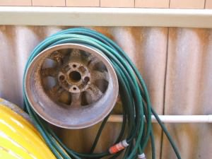 how to get rid of old tires and rims