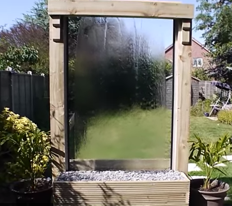 Build Your Own Glass Waterfall D I Y Bullseye