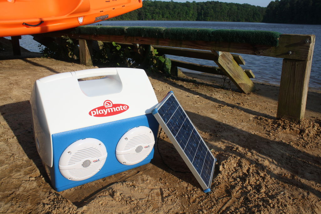 Build Your Own Solar Powered Stereo And Charging Station