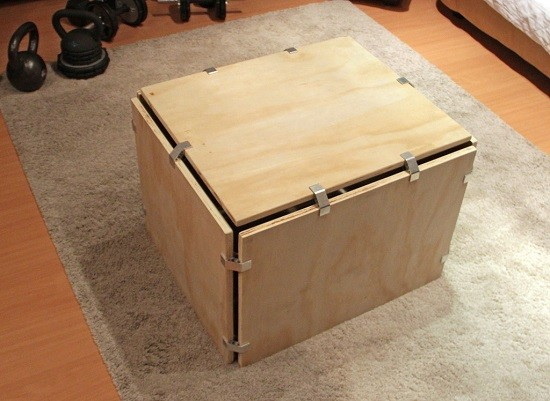 How To Make A Plyometrics Box From Recycled Wood D I Y
