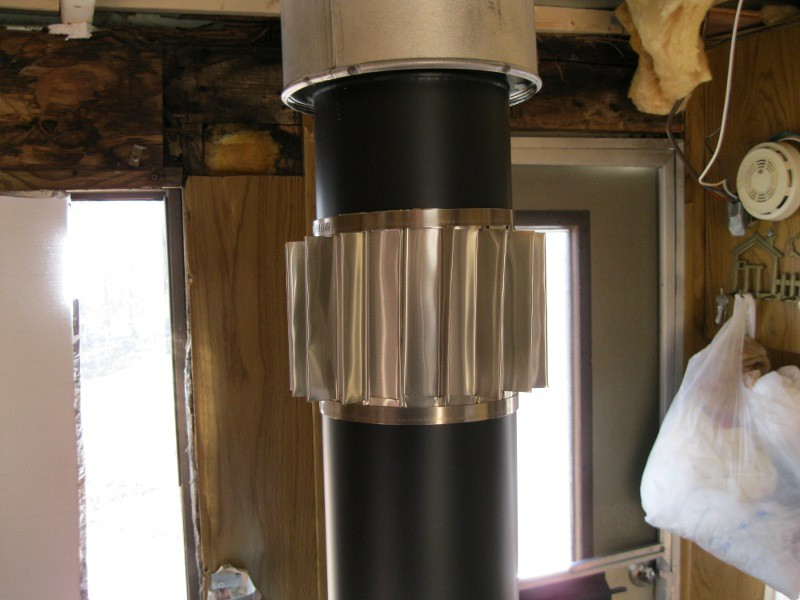 Make A Passive Fireplace Heat Exchanger On The Cheap It Save Tons On Electricity It 39 S Small