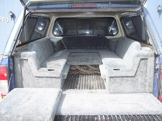 How To Build A Sleeping Platform For Your Pickup Truck D