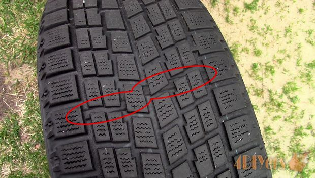 measuring tire tread depth why it 39 s so important d i y bullseye. Black Bedroom Furniture Sets. Home Design Ideas
